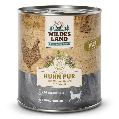 Wildes Land - Huhn PUR gegart