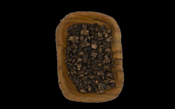 Mini-Rinderlungen-Würfel getrocknet ab