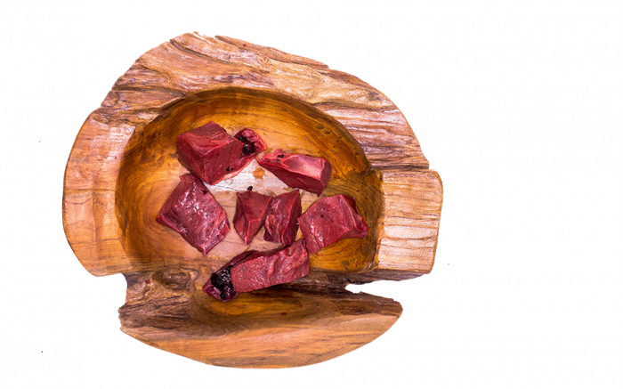 Rinderherz komplett - Gulasch 1000g