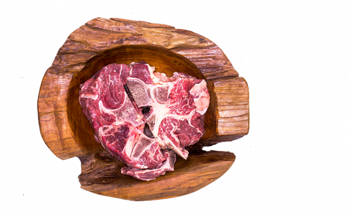 Rindfleisch am Knochen 1000g