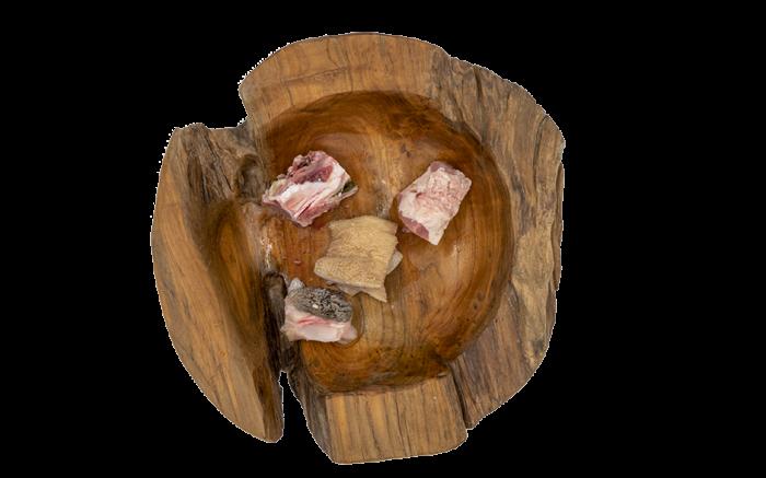 Lamm-Menü gewürfelt 1000g