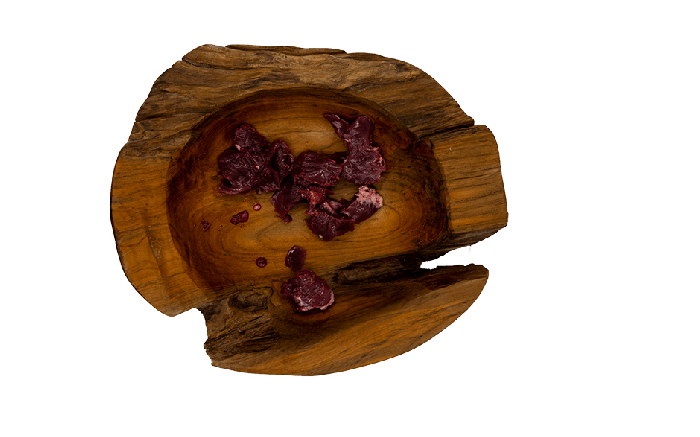 Putenherzen geschnitten