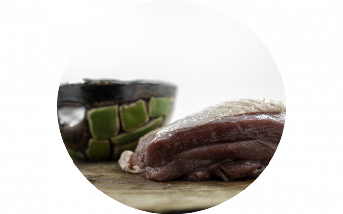 Putenkeulenfleisch am Stück 500g