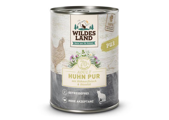 Huhn PUR von Wildes Land für Katzen ab