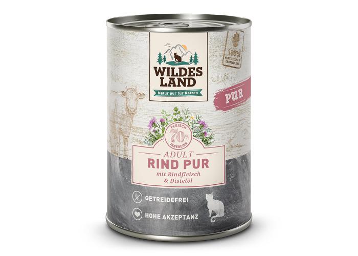 Rind PUR von Wildes Land für Katzen ab