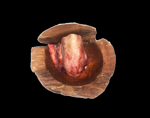 Zunge vom Rind am Stück 1000g