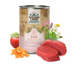 Wildes Land - Rind Puppy gegart 6 x 400g